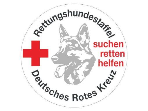 DRK Rettungshundestaffel Dienstbuchhülle