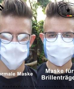 Mund- und Nasenmasken für Brillenträger