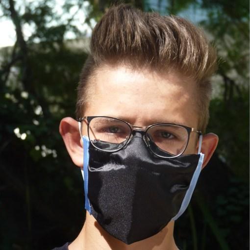 Masken speziell für Brillenträger