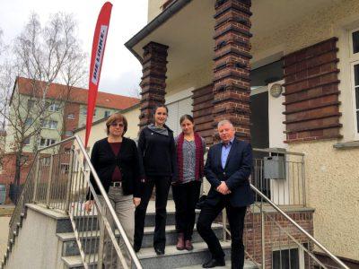 Thomas Nord eröffnet Wahlkreisbüro in Erkner
