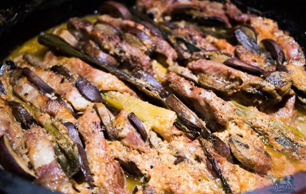 Brasilianisches Schichtfleisch