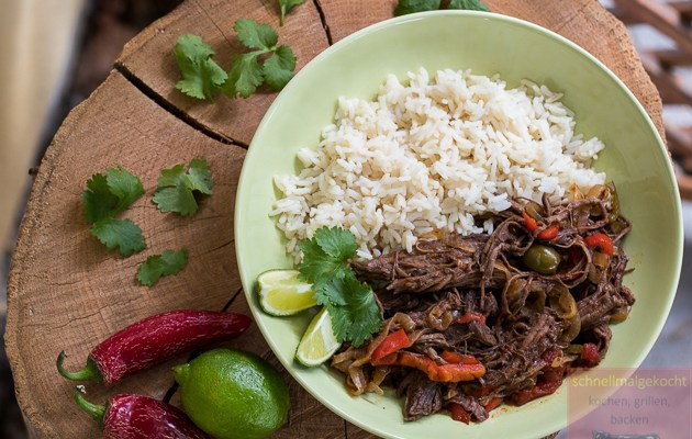 Cuban Pulled Flanksteak