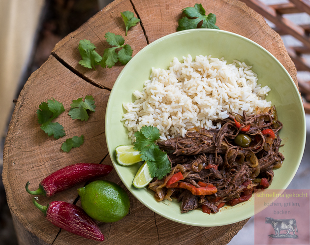 Cuban Pulled Flank Steak