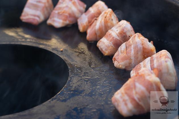 Camembert Bacon Ecken