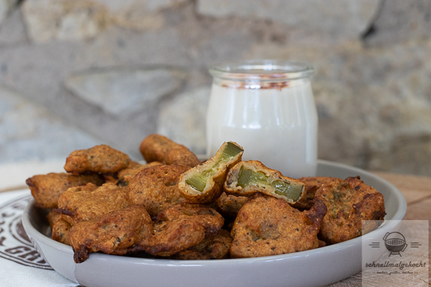 Fried Pickles – frittierte Gewürzgurken