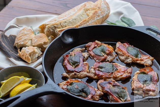 Kachelfleisch Saltimbocca