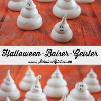 Halloween-Baiser-Geister - Süßes oder Saures