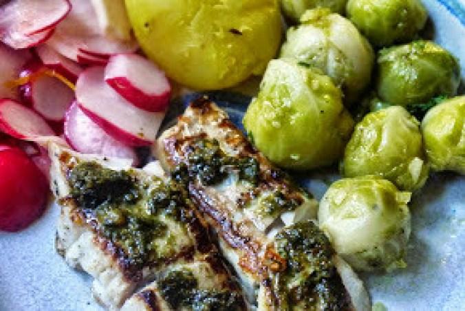 Seelachs,Salate,Kartoffeln -29.10.14   (11)