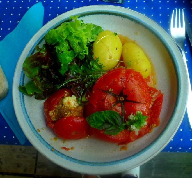 Gefüllte Tomaten - 12.8.15   (1)
