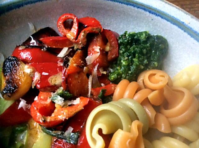 16.1.16 - Nudeln,Pesto,Gemüse (2)