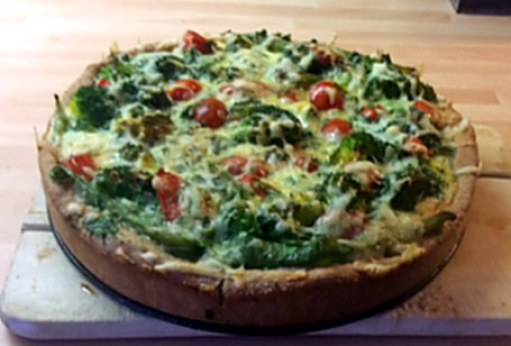 28.1.16 - Brokkoli,Pepperoni Quiche (1)