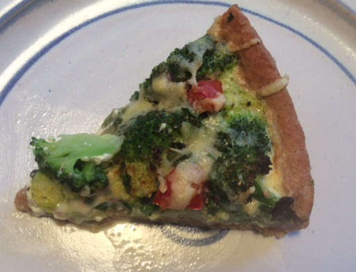 28.1.16 - Brokkoli,Pepperoni Quiche (1a)
