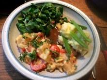 Pastinaken,Kartoffelstampf,Feldsalat,vegetarisch - 2.1.16 (12)
