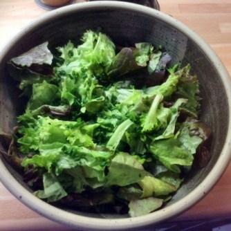 10.3.16 - gefüllte Zucchini,Tomatensoße,Reis,Salat (12)