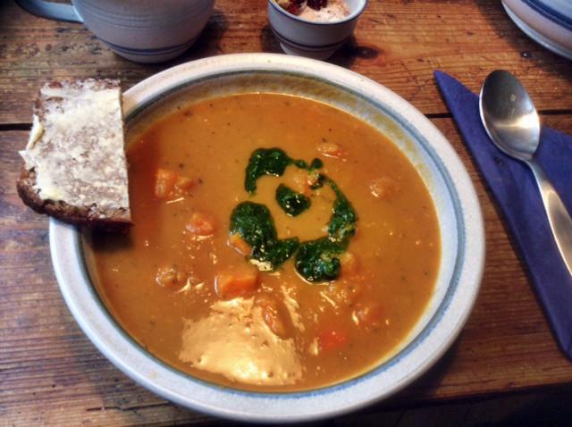 2.3.16  -Süßkartoffel-Curry Suppe (1)