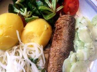 11.4.16 - Brathering,Salate,Kartoffeln,pescetarisch (11)