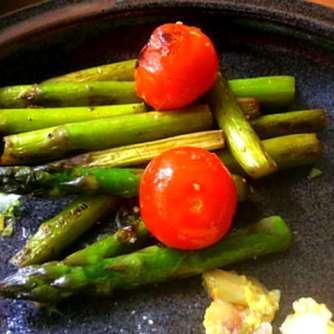 29.4.16 - Kartoffelgratin,grüner Spargel,Fenchelsalat (18)
