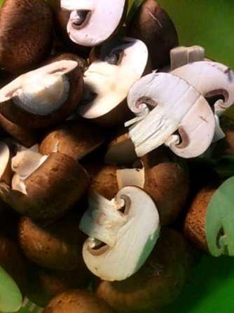 8.4.16 - Champignon,Frikadellen,Salat,Kartoffeln (4)