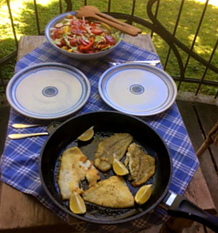 7.5.16 - Schollenfilet,Salaat,Kartoffel,pescetarisch (3)