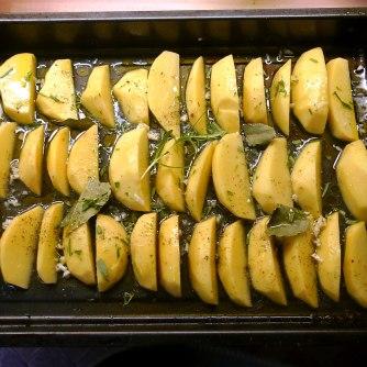 6.6.16 - Zitronenkartoffeln,Forelle,Salat (8)
