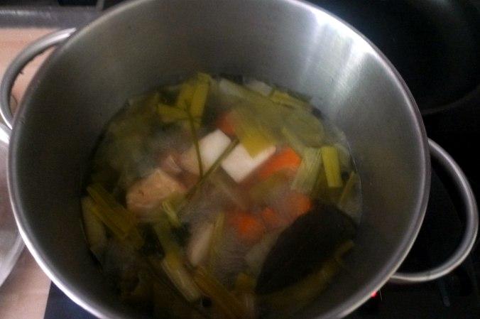 Graupen Risotto,Salat (2)