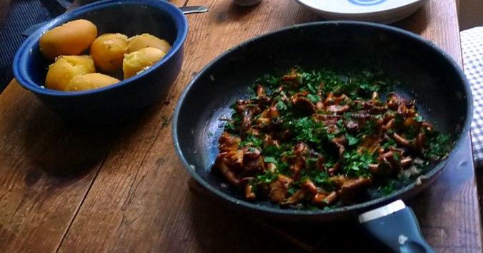 Pfifferlinge,Kartoffel,Rührei (5) - Kopie