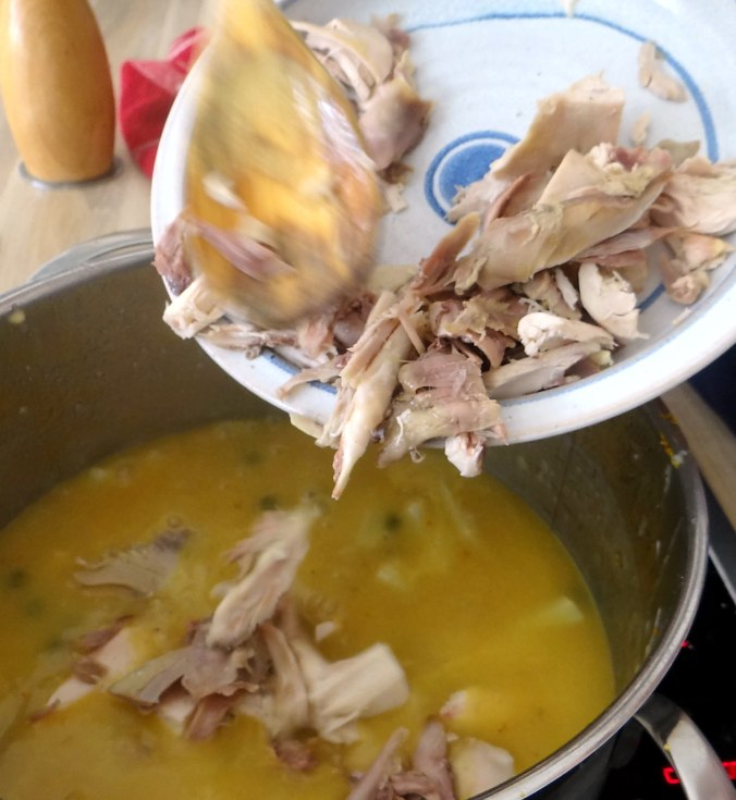 Hühnerfrikassee,Reis (19)