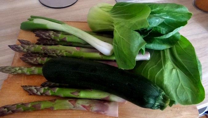 Gemüse Allerlei,Nudel Mix,vegetarisch (6)