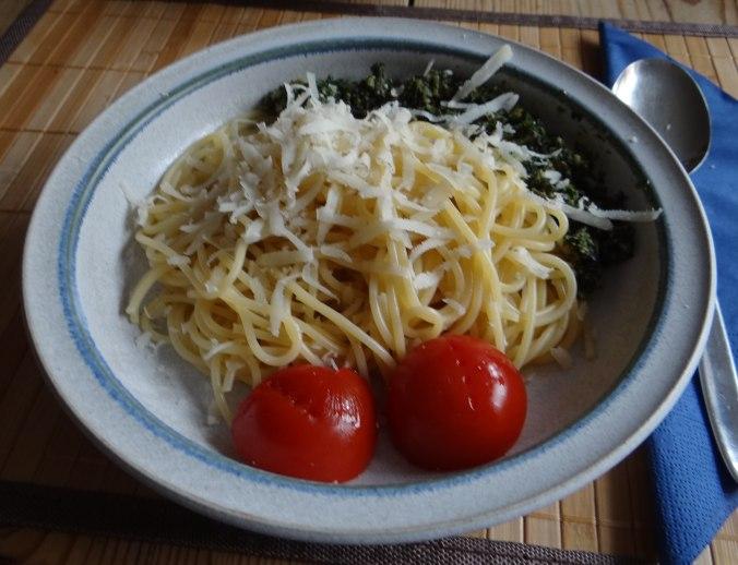 Spaghetti mit Wildkräutern (17)