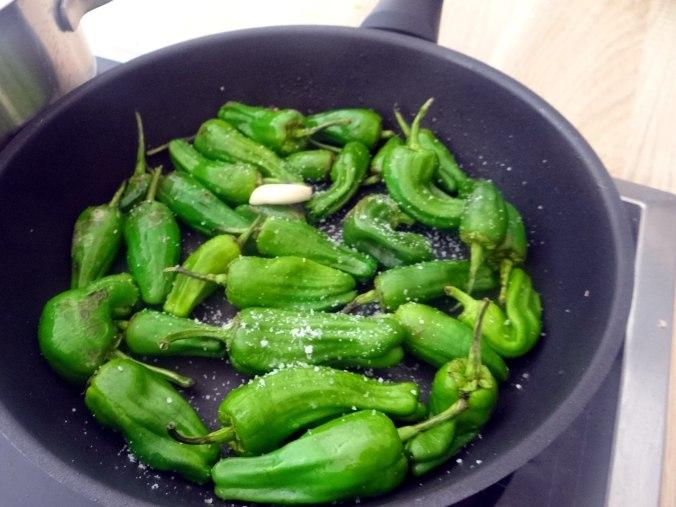 Grüne Nudeln mit Gemüse (11)
