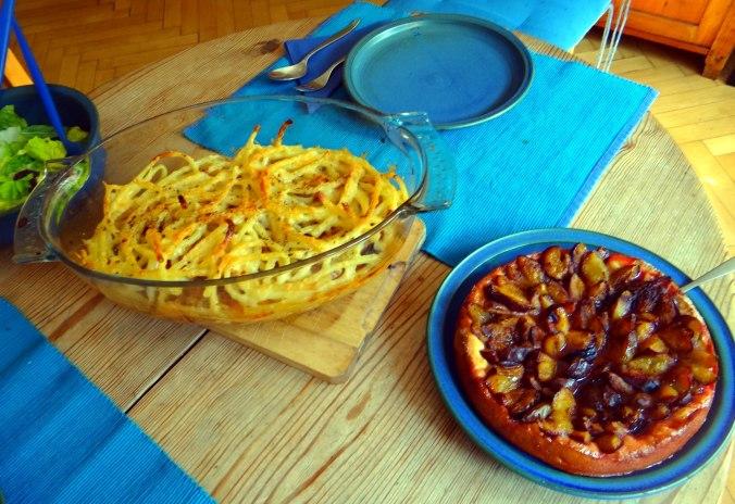 Pastizio,Makkaroni Auflauf,Pflaumenkuchen (3)