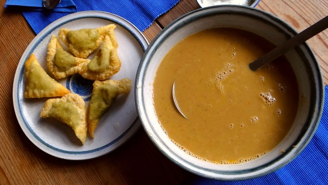 Maronensuppe,Teigtaschen,Wan Tan (14)