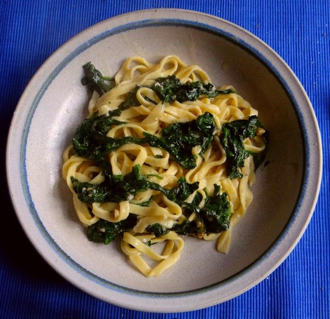 Nudeln,Spinat,Gorgonzola (1)