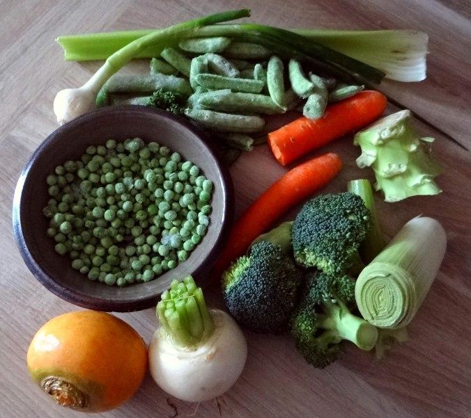 Gemüsesuppe mit weißen Bohnen (6)