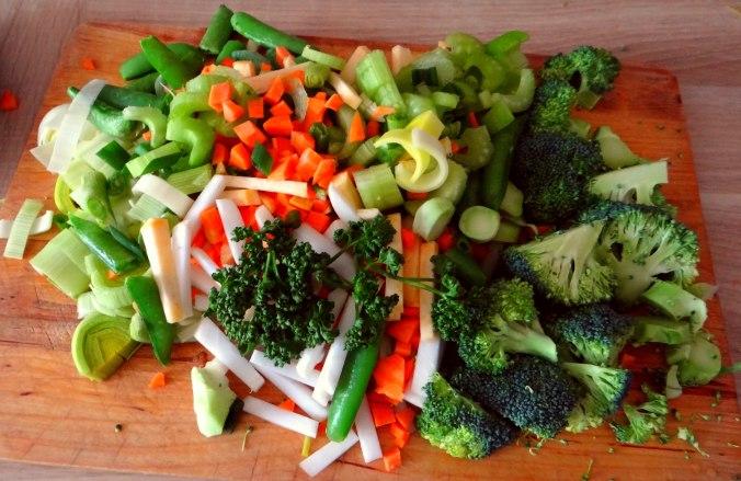 Gemüsesuppe mit weißen Bohnen (8)