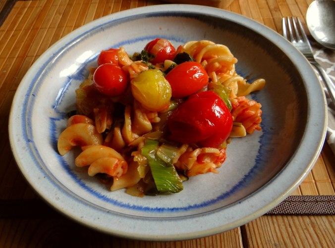 Pak Choy,Tomaten Spirelli (1)