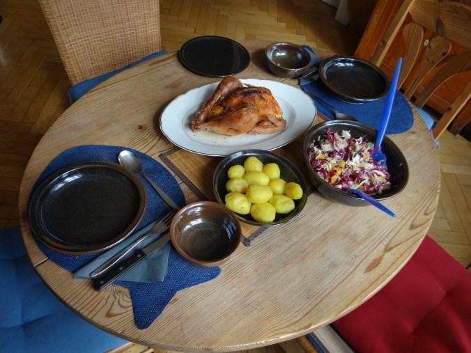 Biohähnchen mit buntem Salat (14)
