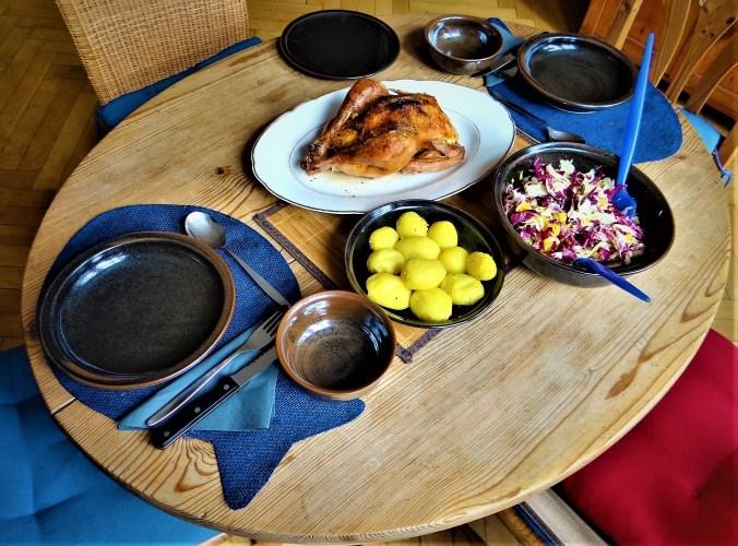 Biohähnchen mit buntem Salat (4)