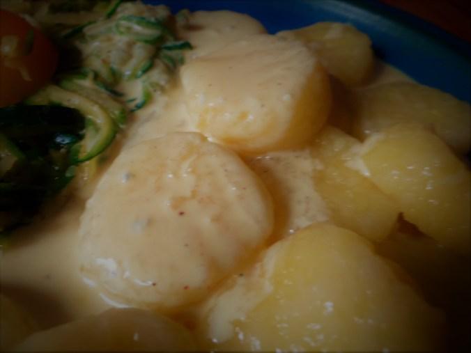 Gnocchi mit Gorgonzola Sauce und Zucchini Zoodles (2)