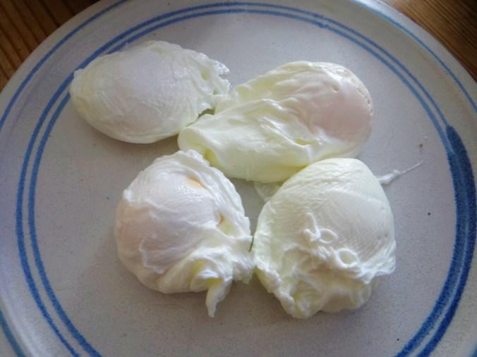 Röstkartoffeln,Dillsoße,pochierte Eier (11)