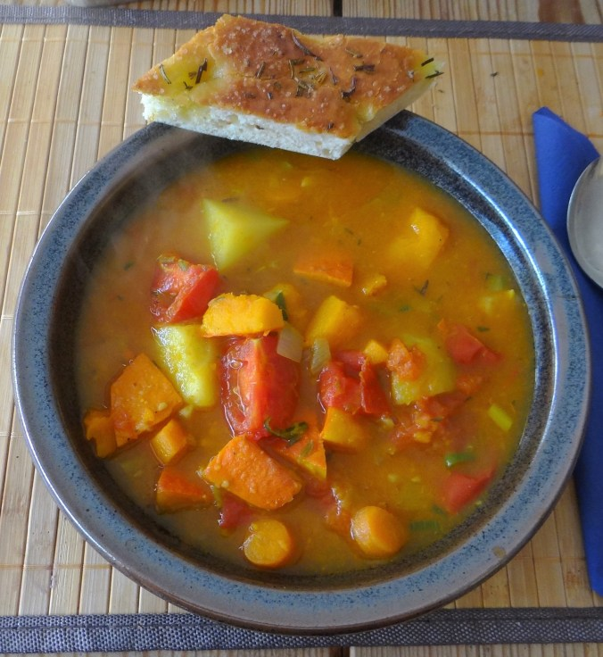 Kürbis-Gemüse Suppe (2)