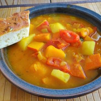 Kürbis-Gemüse Suppe (20)