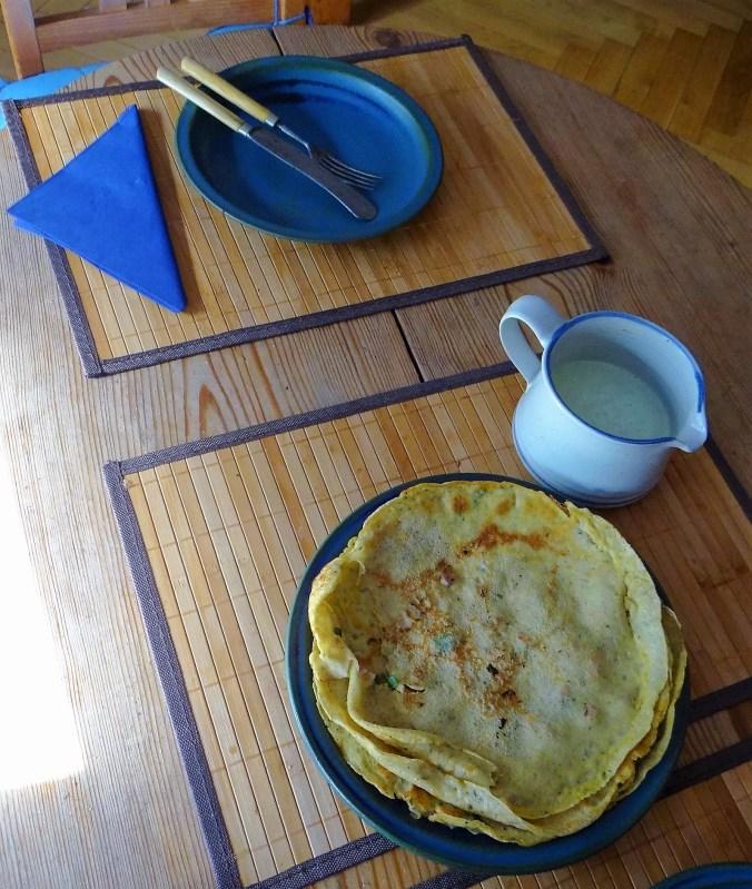 Buchweizen Pfannkuchen mit Bacon (5)