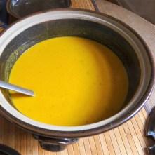 Orientalische Möhrensuppe und Quitten Dessert (10)
