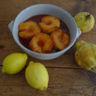 Orientalische Möhrensuppe und Quitten Dessert (24)