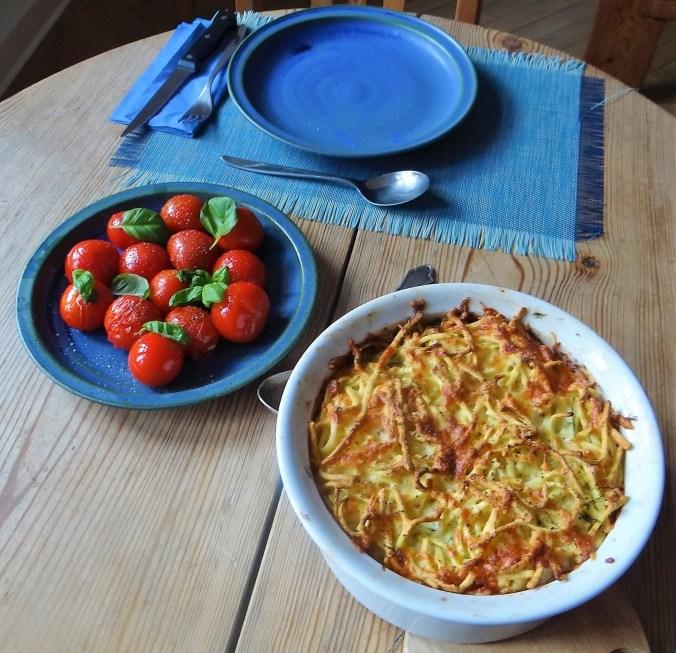 Nudelauflauf,Tomaten (4)