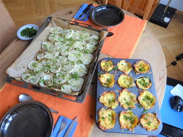 Fenchel und knusprige Kartoffelnester (13)