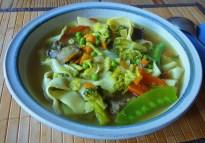 Gemüsesuppe mit Pappardelle (13)