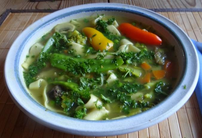 Gemüsesuppe mit Pappardelle (14)