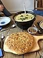 Feine Kartoffelsuppe,Foccacia (2)